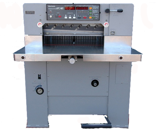 Guillotining - image APC-t61 on http://corporateprinters.com.au