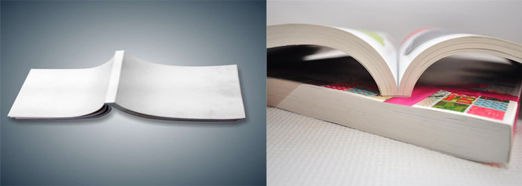 Binding and Finishing - image perfect-bound on http://corporateprinters.com.au
